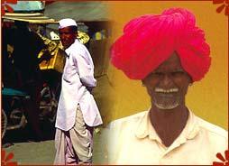 Image result for costume of men in maharashtra