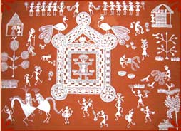 Warli paintings worli paintings maharashtra warli tribal warli paintings thecheapjerseys Image collections